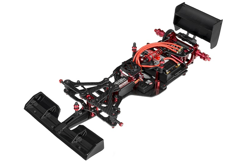 1/10 FSX-10 Formula 1 Chassis Kit (No Body, Tires, or