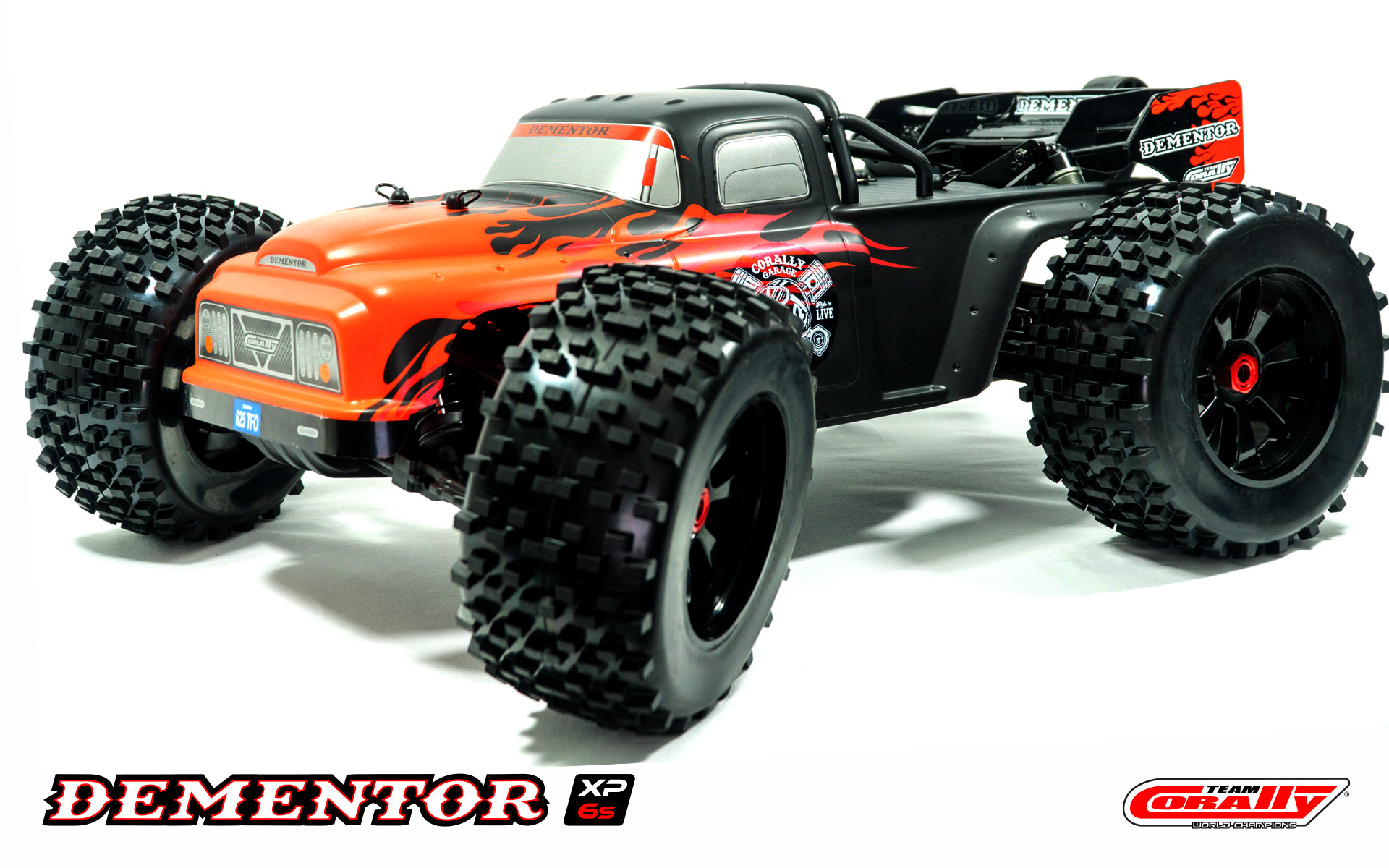 1/8 Dementor XP 6S 4WD Monster Truck Brushless RTR
