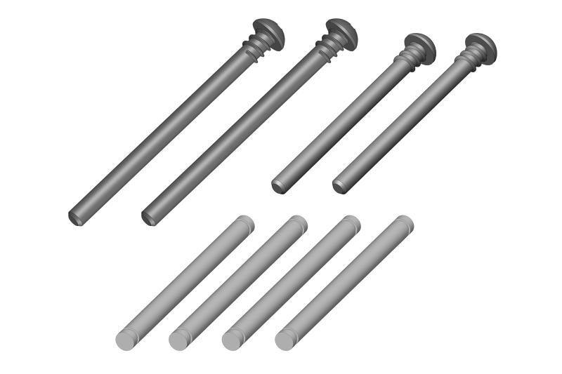 Arm Pin Set - 1 Set: Mammoth, Moxoo, Triton