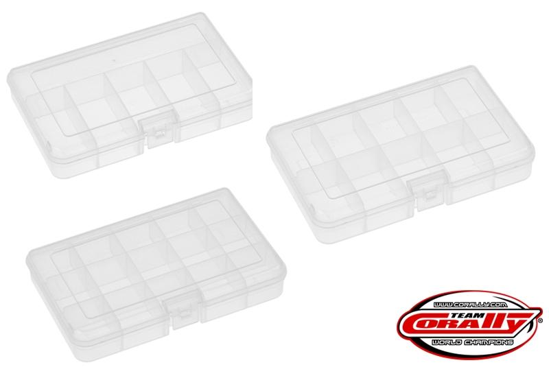 Medium Parts Box Set (3) 165 x 112 x 31mm