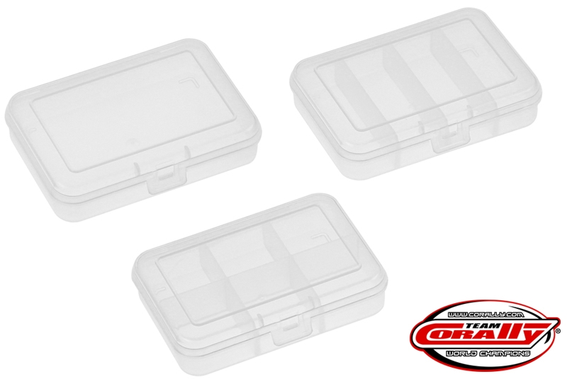 Team Corally - Assortment Box Set 3pcs, Small 91x66x21mm