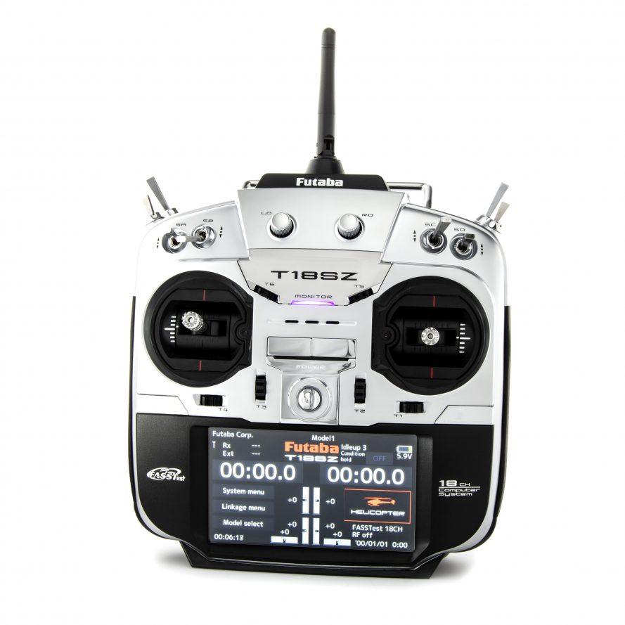 18SZ H 2.4GHz FASST Heli Spec Radio System w/R7014SB