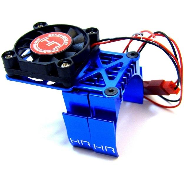 Blue Multi Mount Fan, Heat Sink, 36mm Motors