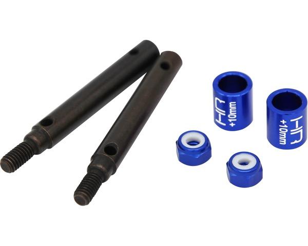 +10mm S2 Spring Steel Portal Drive Stub Axles, for TRX-4