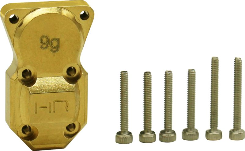 9g Brass Differential Cover, for Axial SCX24