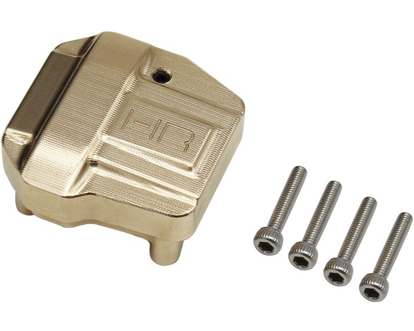 Heavy Brass Differential Cover for SCX III