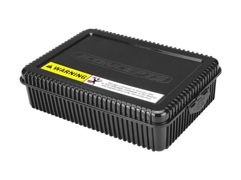 Shorty storage box-black w/ Foam Liner