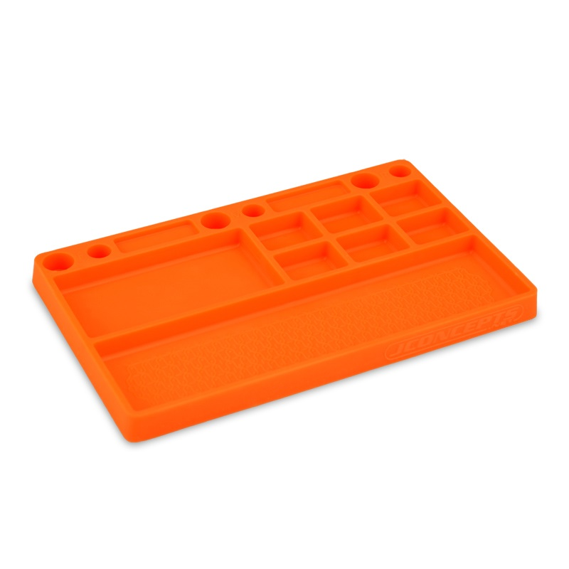 Parts Tray Rubber Material Orange