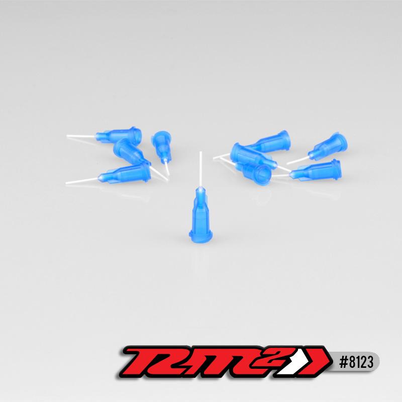 Glue Tip Needles, Thin Bore, Blue (10pcs)