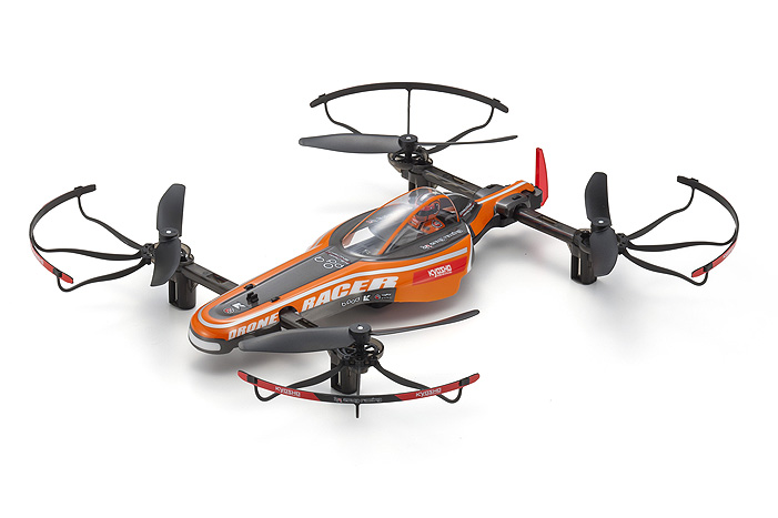 1/18 DRONE RACER b-pod Orange