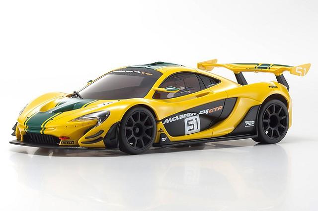 MINI-Z McLaren P1 GTR Yello/Green MR-03 RWD RTR