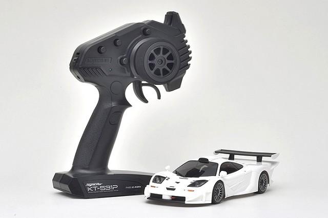 Mini-Z RWD McLaren F1 GTR White Mini-Z, MR-03 RS