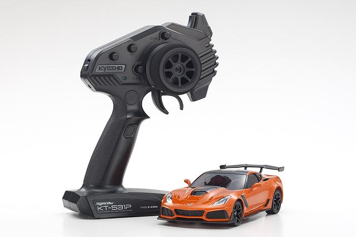 MINI-Z RWD Corvette ZR1 Orange