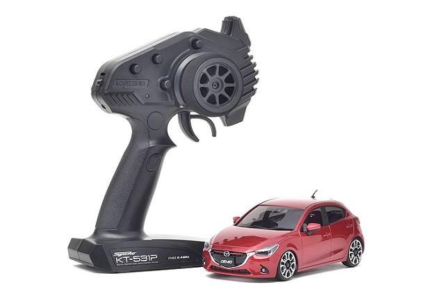 MINI-Z FWD Mazda 2 Red Premium
