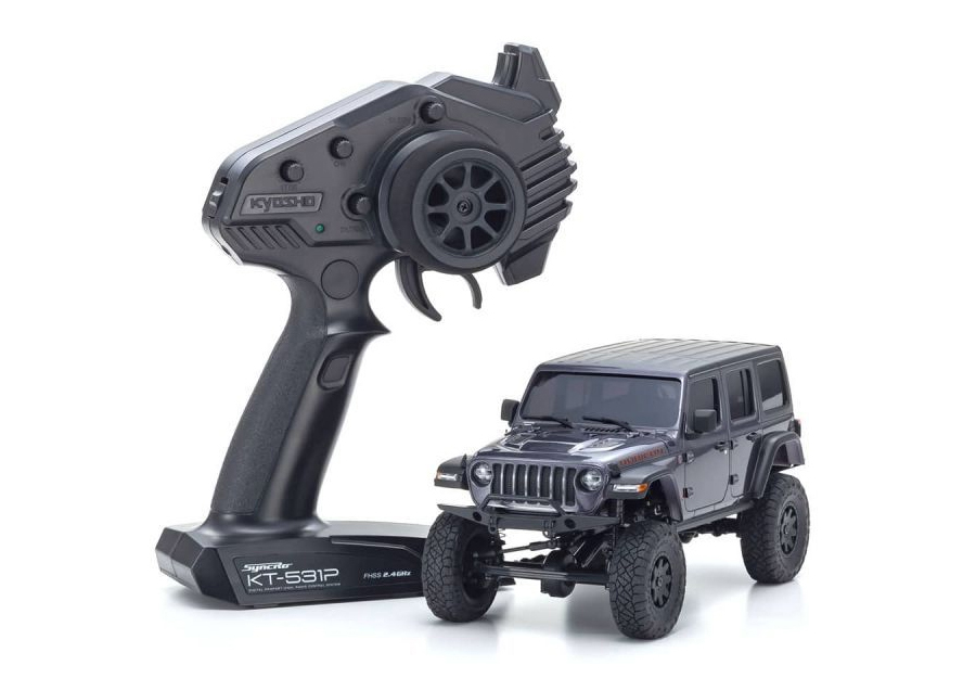 Mini-Z 4x4 Jeep Wrangler Rubicon Grey