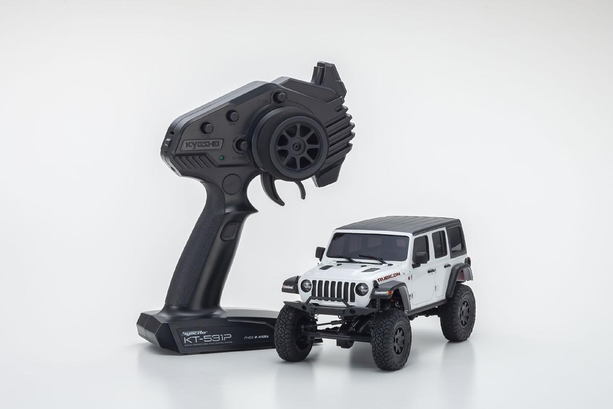 Mini-Z 4x4 Jeep Wrangler Rubicon White