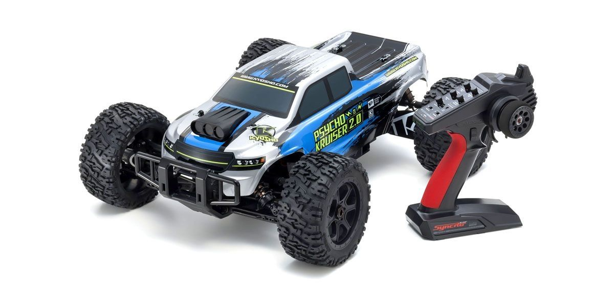 1/8 Scale Radio Controlled Brushless Powered 4WD Monster