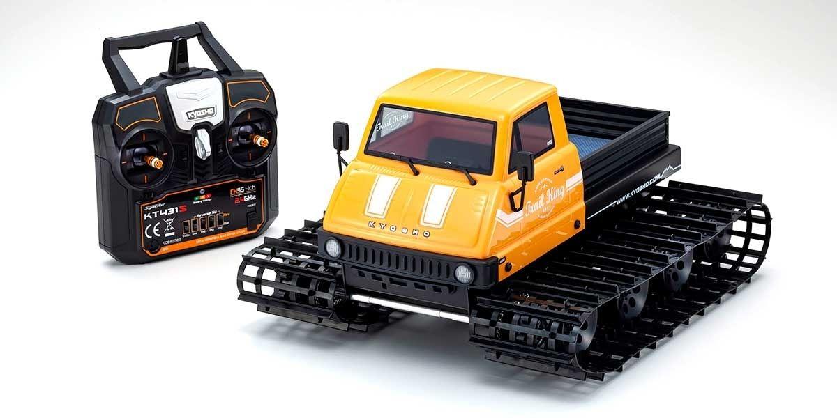 1/12 Trail King Ready Set Belt Vehicle Type 1 Yellow