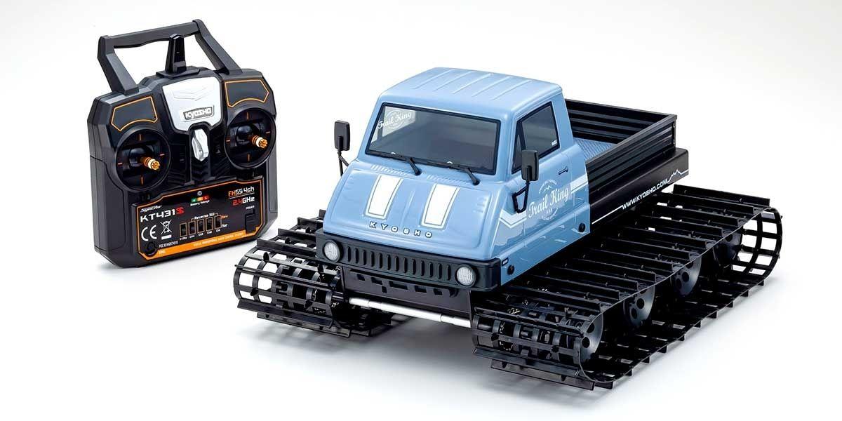 1/12 Trail King Ready Set Belt Vehicle Type 2 Blue