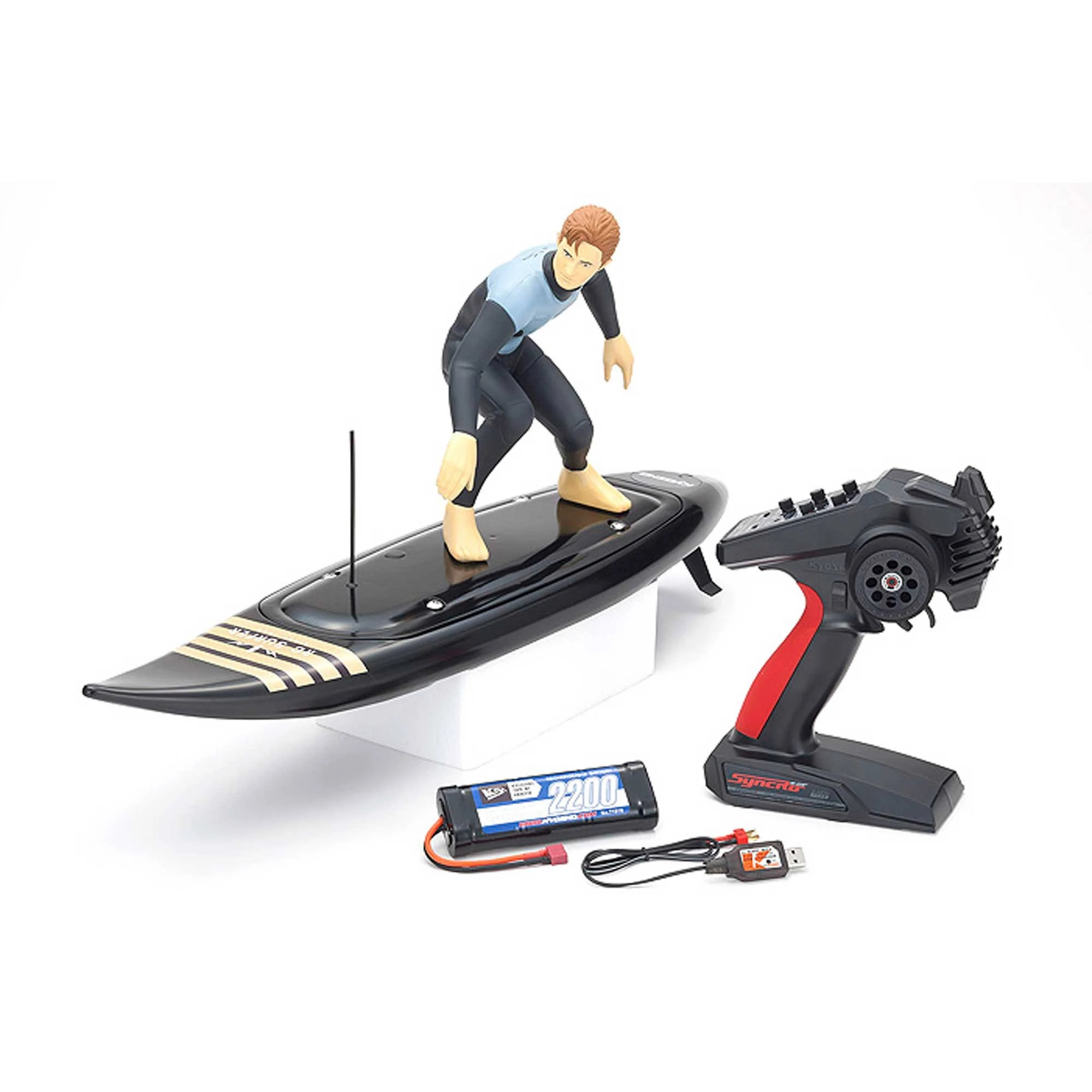 RC Surfer 4 Black