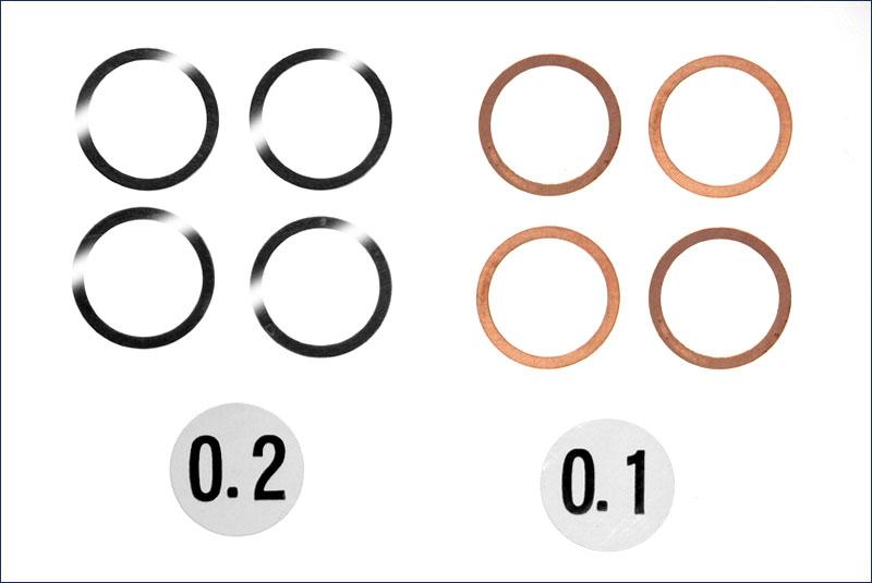 12X15mm Shim Set(0.1/0.2/4pc)
