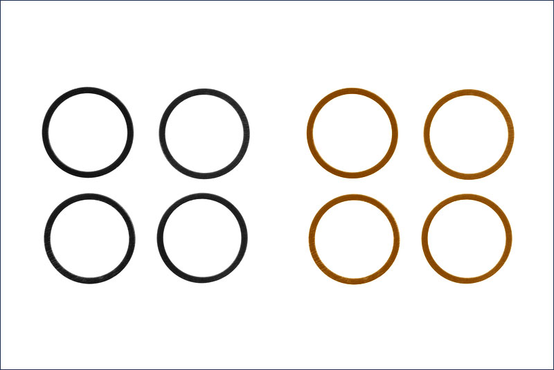 10 X 12mm Shim Set (0.1/0.2) (4)