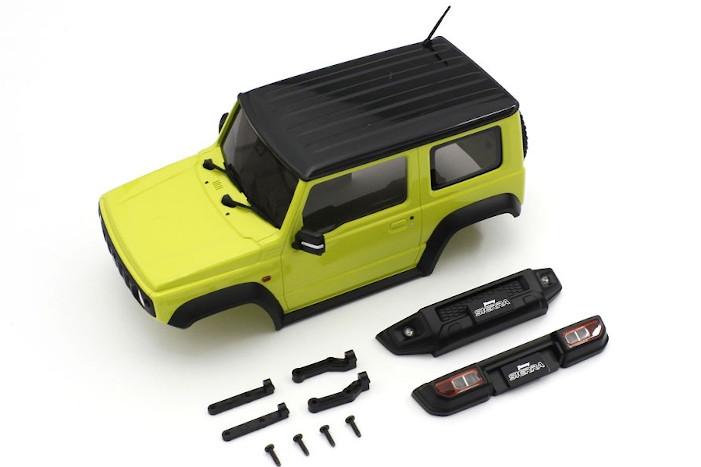 Yellow Suzuki Jimny Sierra Body for Mini-Z 4x4