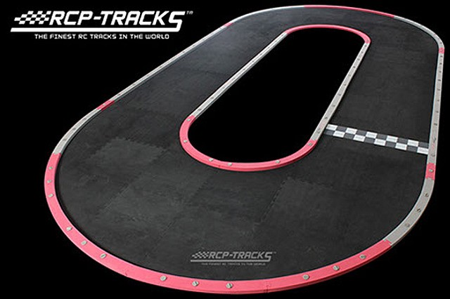 Large Radius Oval Track (50cm Tiles)