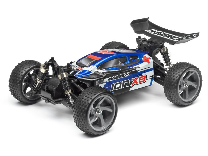 BUGGY PAINTED BODY BLUE WITH DECALS (ION XB)