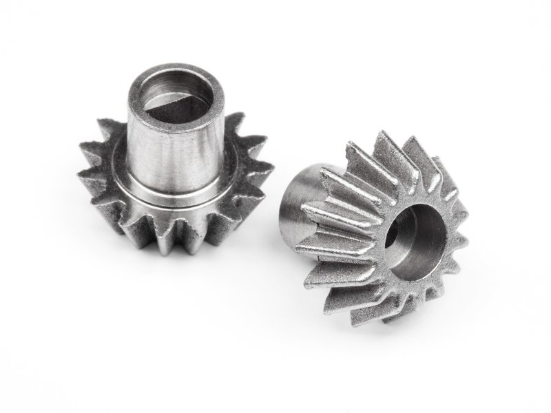 ALUMINIUM DIFF PINION GEAR 2PCS (ALL ION)