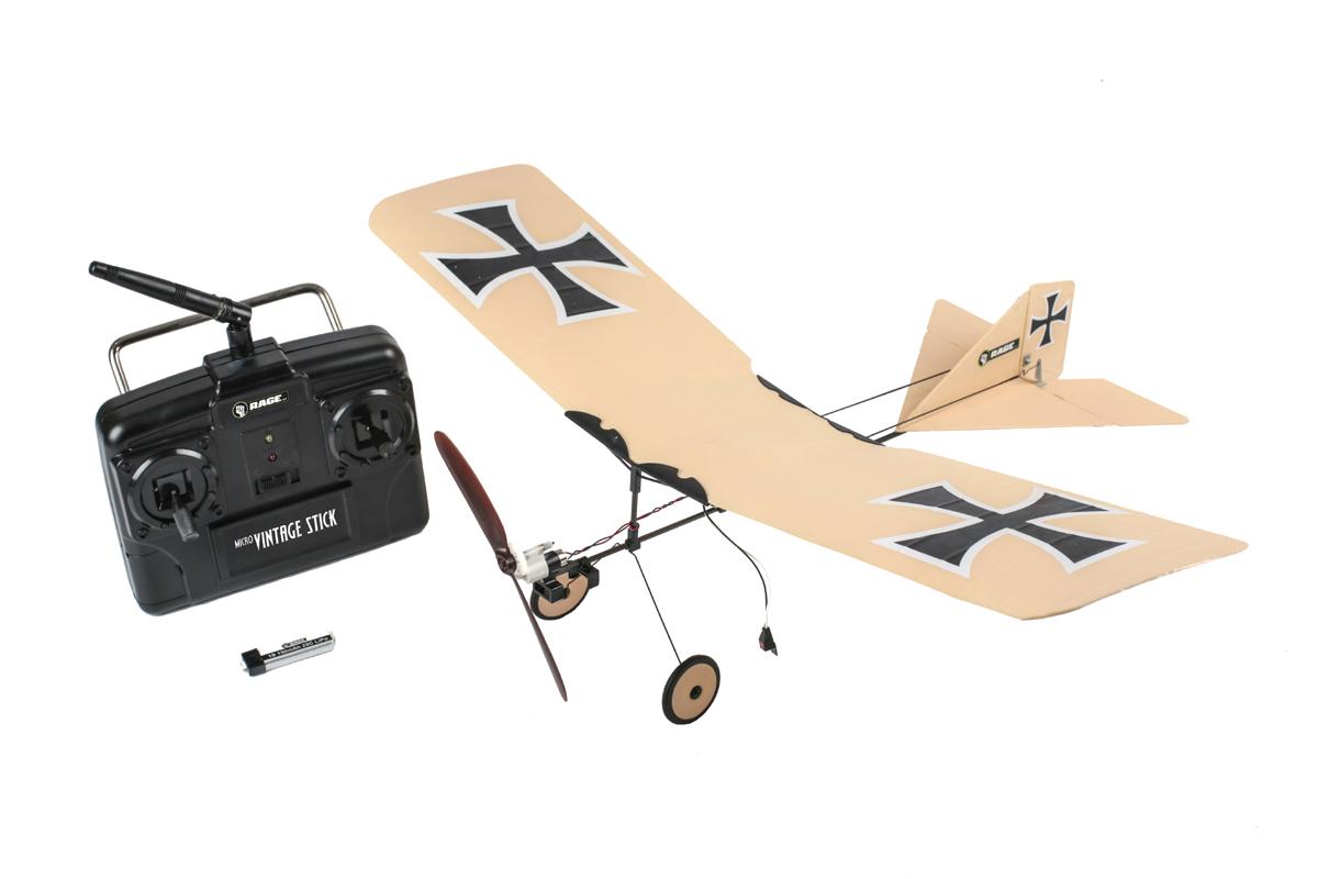 Vintage Stick Micro RTF Airplane