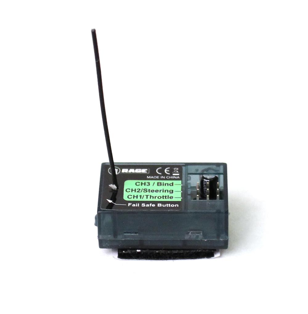2.4Ghz 2ch Receiver (Manual Bind); Velocity 800 BL