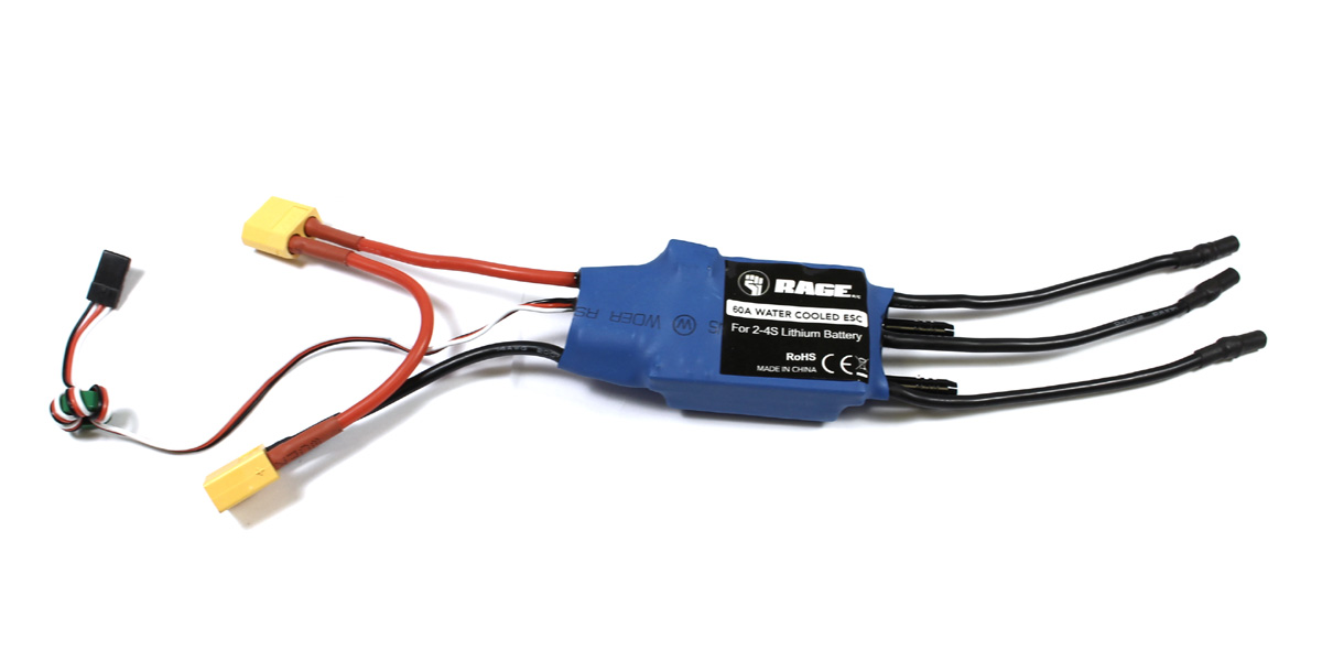 60A Brushless ESC (Water-Cooled); Velocity 800