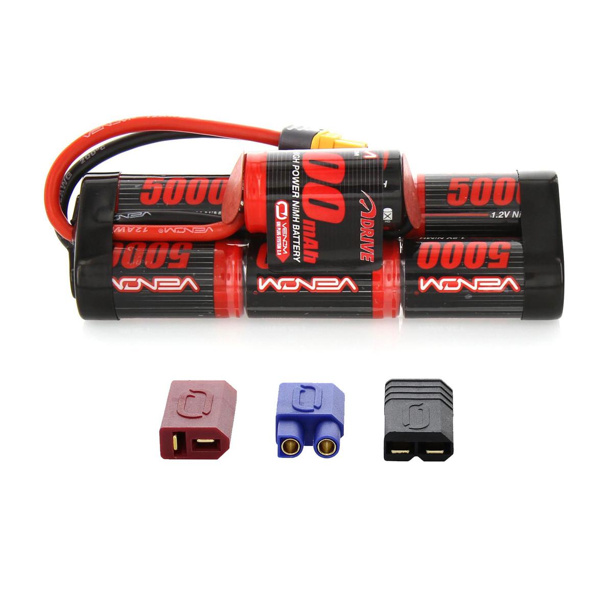 DRIVE 8.4V 5000mAh NiMH Hump Pack  : UNI 2.0 Plug VNR15487
