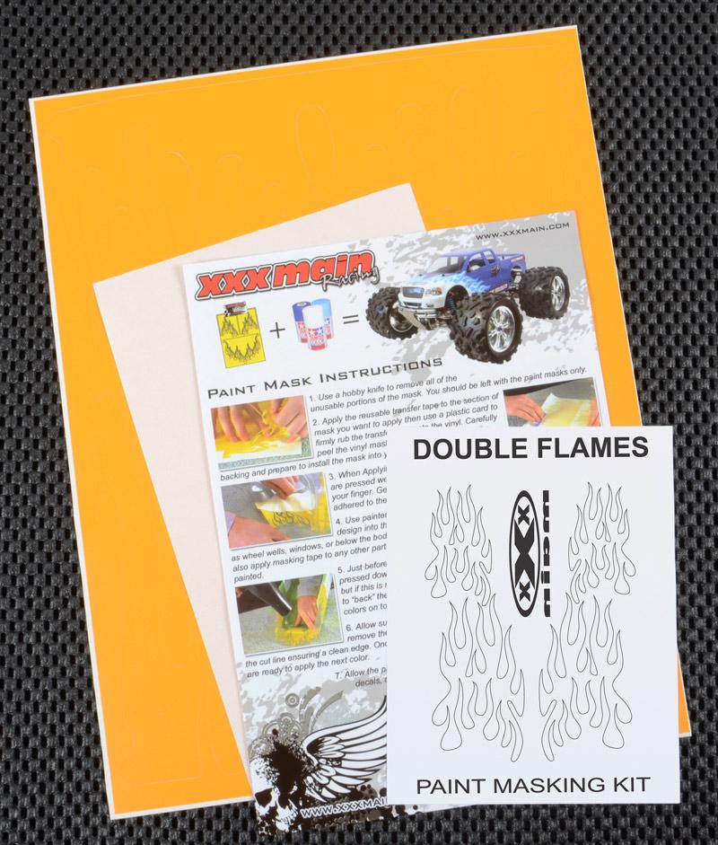 Double Flames Paint Mask