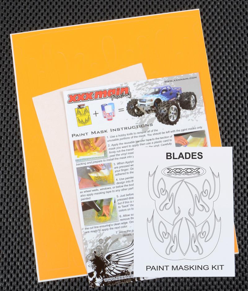 Blades Paint Mask