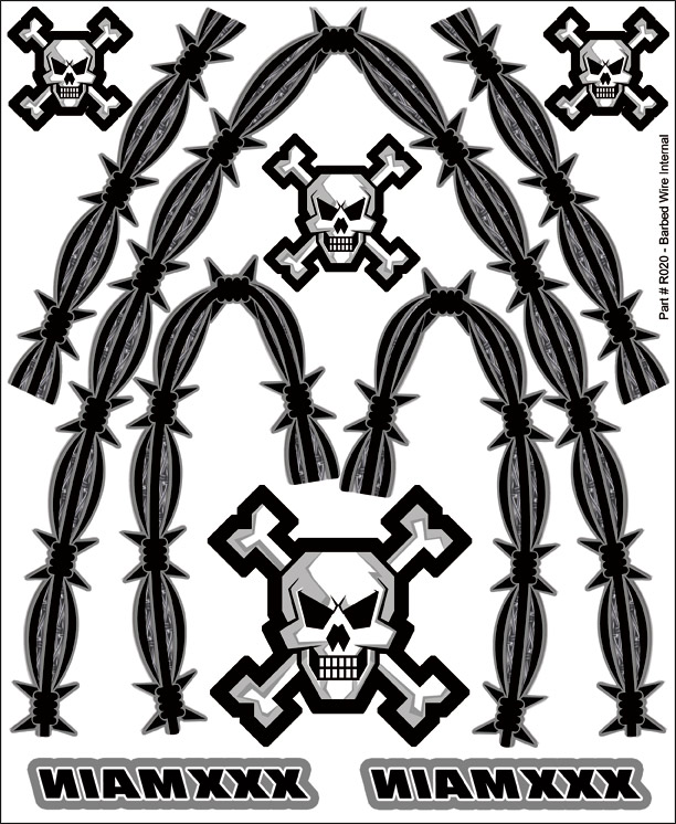 Barbed Wire Internal Graphic