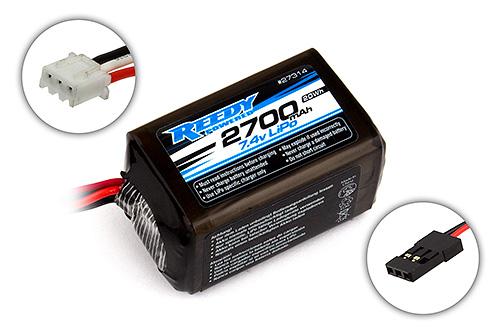 Reedy LiPo Pro RX 2700mAh 7.4V Hump Size Battery