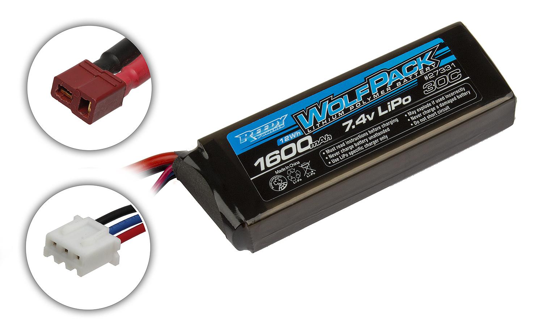 Reedy Wolfpack LiPo 1600mAh 30C 7.4V