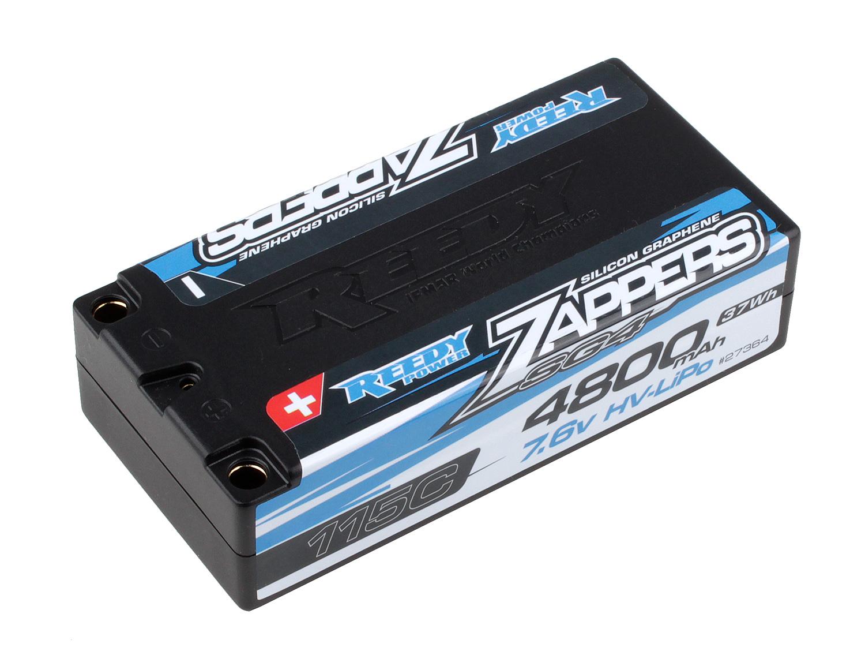 Zappers SG4 4800mAh 115C 7.6V Shorty Battery Pack