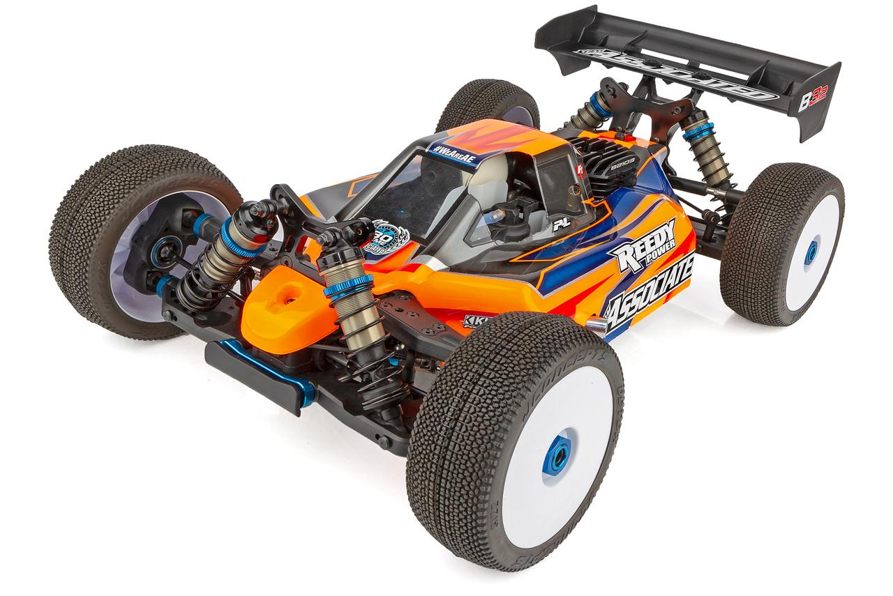 RC8B3.2 Nitro 1/8 Off-Road Buggy Team Kit