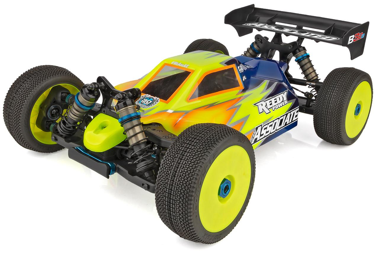 RC8B3.2e Electric 1/8 Buggy Team Kit