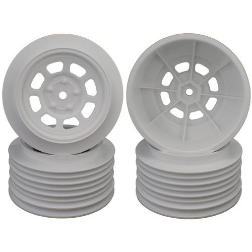 Speedway SC Wheels for Traxxas Slash Front White