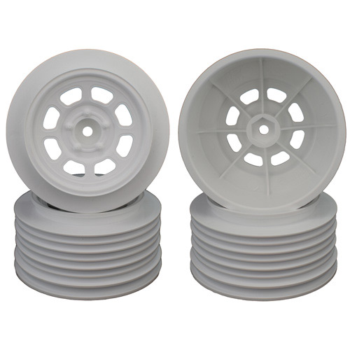 Speedway SC Wheels for Traxxas Slash Rear White