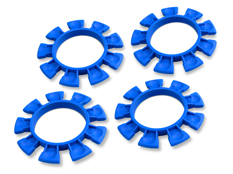 Satellite Tire Gluing Rubber Bands - Blue