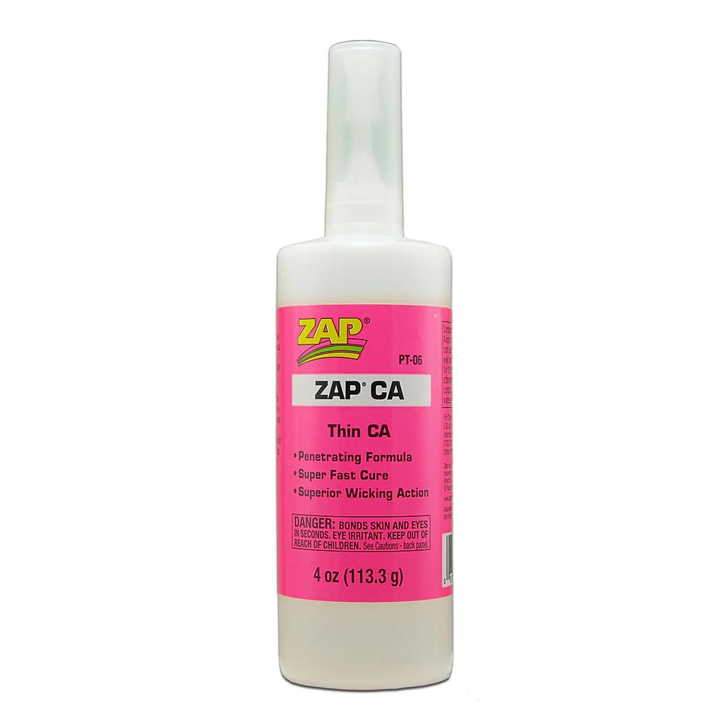 Zap CA Glue 4oz Bottle
