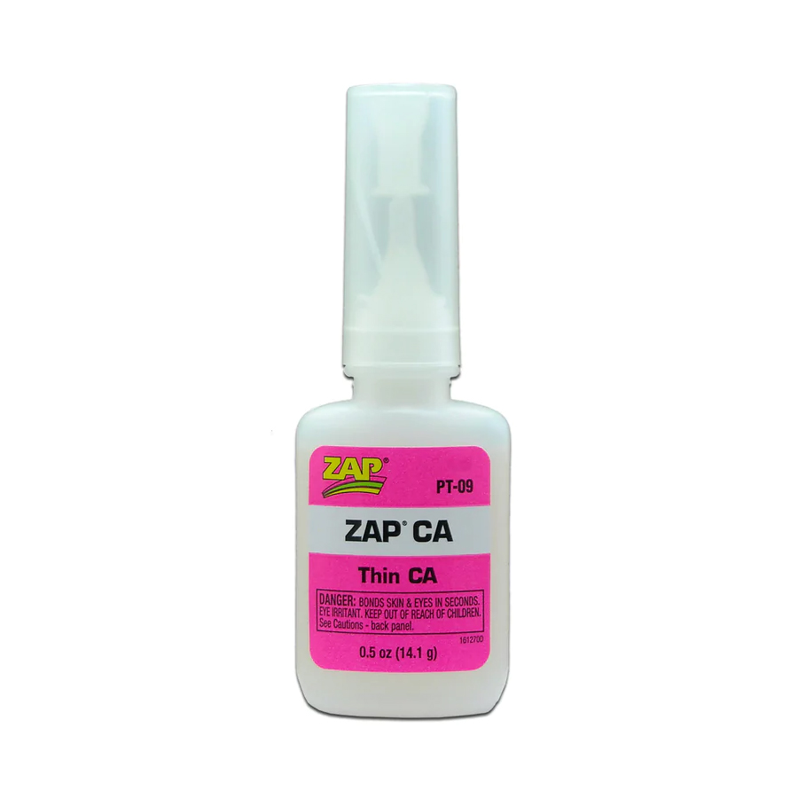 Zap CA Glue 1/2oz Bottle